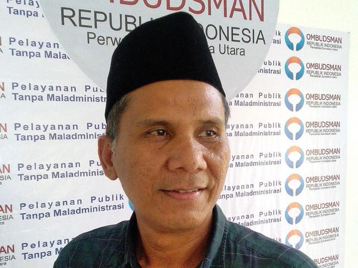 Kepala Ombudsman RI Perwakilan Sumut, Abyadi Siregar (dok. Istimewa)