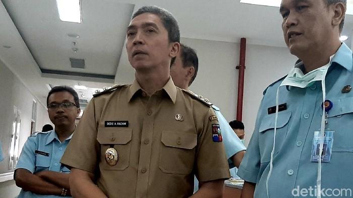 Ketua Gugus Tugas Kota Bogor Dedie A Rachim