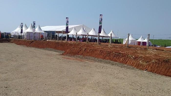 Lokasi pembangunan kawasan industri Batang