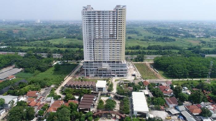 PT Adhi Persada Properti membangun aoartemen untuk kalangan mahasiswa, di Depok, Jawa Barat.