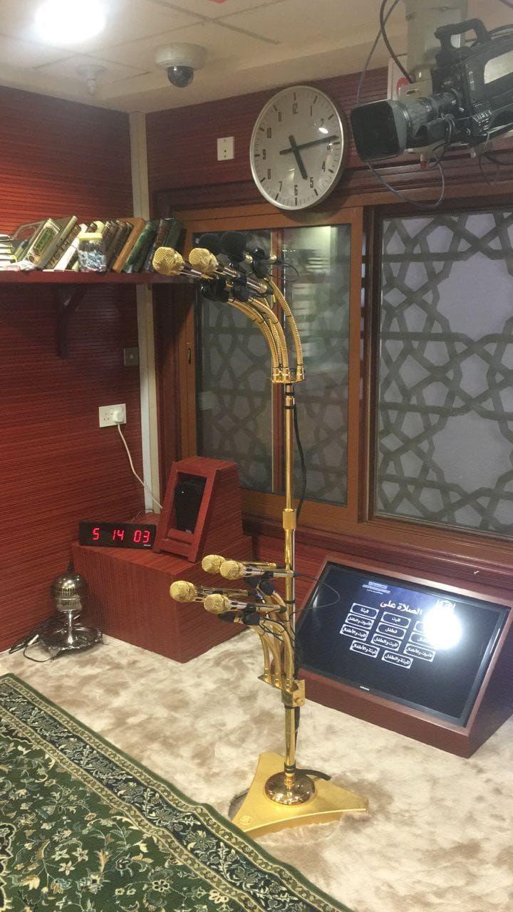 pengeras suara di masjidil haram
