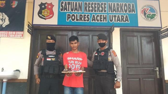 Pria di Aceh Utara ditangkap gegara bawa sabu ke Rutan (dok. Istimewa)