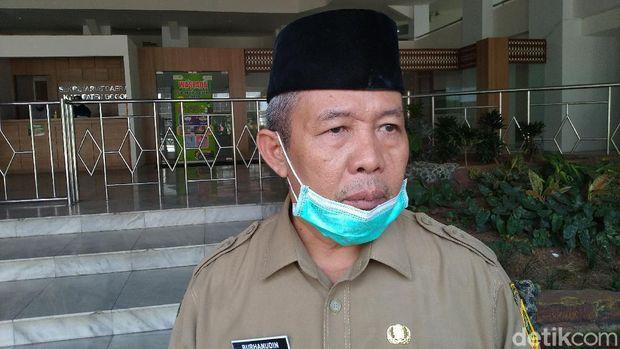 Sekretaris Daerah (Sekda) Kabupaten Bogor, Burhanudin