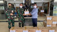 Sido Muncul Sumbang 4.000 Botol Kapsul JSH ke Nakes RSPAD Gatot Soebroto