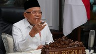 Kunker Perdana di New Normal, Maruf Amin Tinjau SMA-Ponpes di Sukabumi