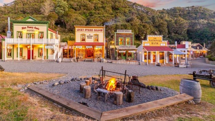 Wild West atau Mellonsfolly Ranch New Zealand