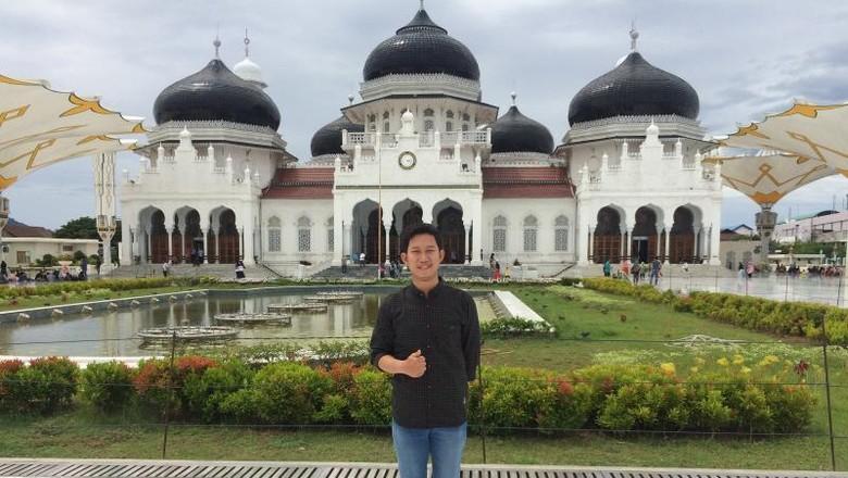 wisata aceh masjid baiturrahman