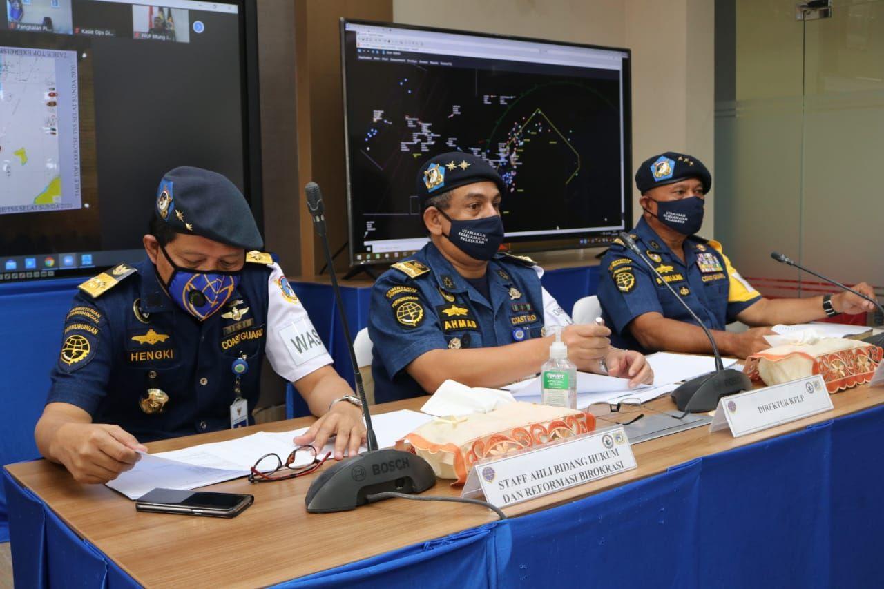 Bagan pemisah lalu lintas atau Traffic Separation Scheme (TSS) di Selat Sunda dan Selat Lombok resmi diberlakukan hari ini, Rabu (1/7).