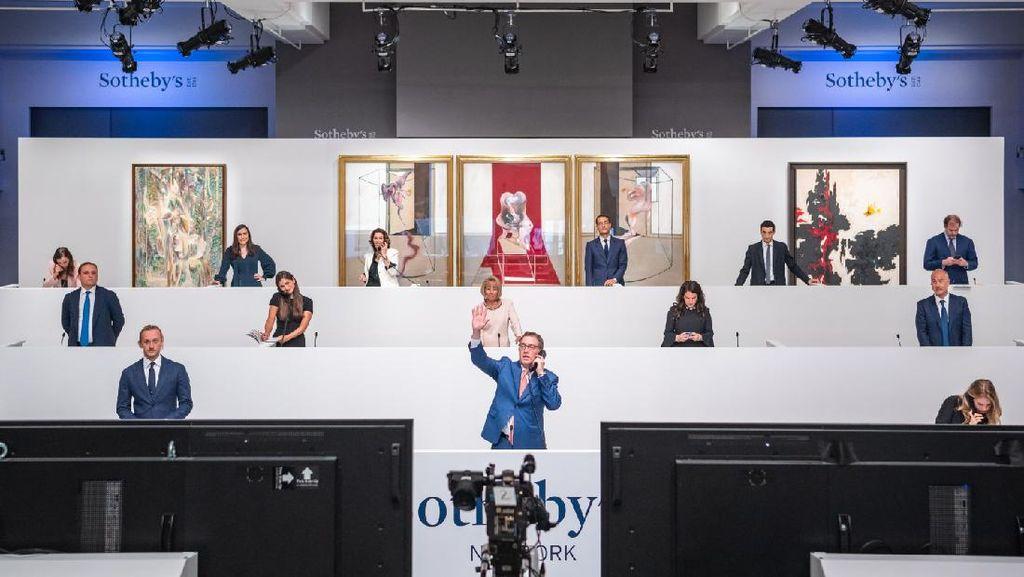 Sukses Besar saat Corona! Sothebys Lelang Karya Seni Capai Rp 5,2 T