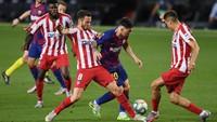 Barcelona Vs Atletico Madrid: Rekor Messi Lawan Los Colchoneros