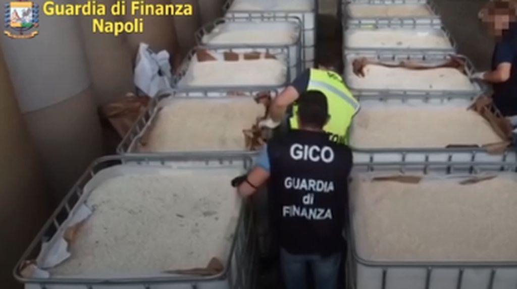 Cetak Rekor! Polisi Italia Sita 14 Ton Amfetamin Buatan ISIS
