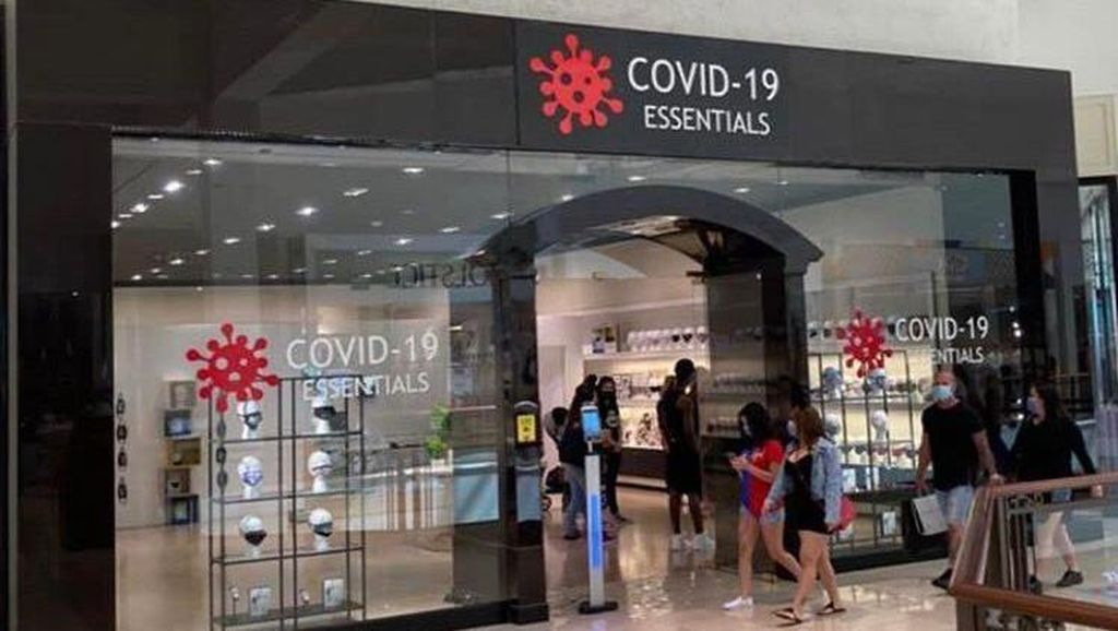 Toko Ini Khusus Jual Produk untuk Cegah COVID-19, Malah Dapat Kritik