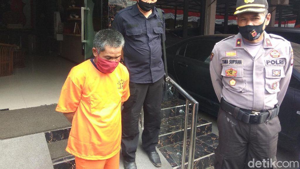 Dukun Bejat Cabuli Gadis SMP di Bandung, Polisi Sita Apel Jin