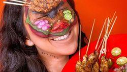 5 Kuliner Indonesia Ini Jadi Ide Face Painting yang Menarik