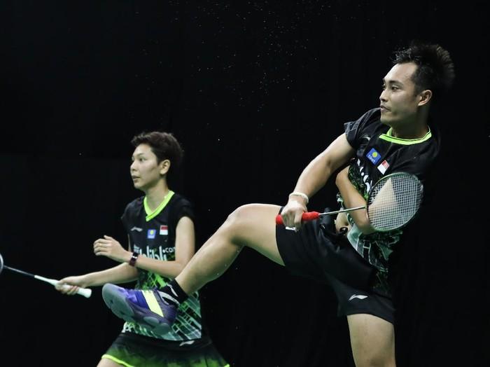 Hafiz Faisal/Gloria Emanuelle Widjaja di PBSI Home Tournament.
