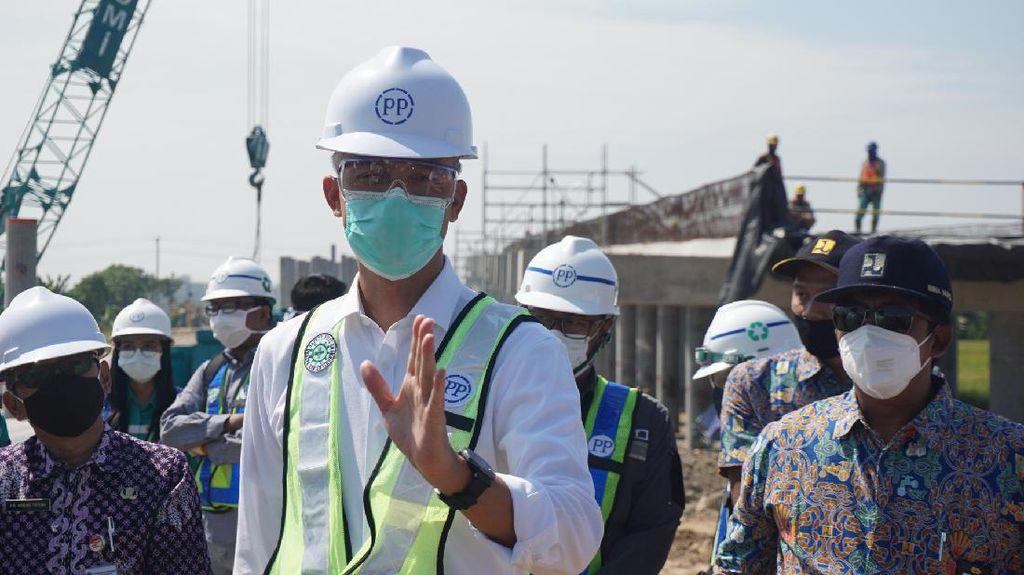 Target Rampung Tol Semarang-Demak Seksi II Mundur ke Maret 2022