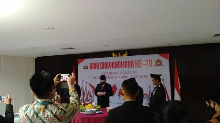 ICW menyoroti Ketua KPK Firli Bahuri yang merayakan Hari Bhayangkara di gedung KPK (Dok. ICW)