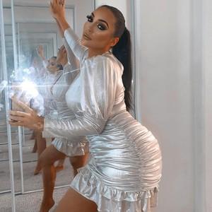 Foto: Wanita yang Dijuluki Kim Kardashian KW, Dandan 6 Jam Setiap Hari