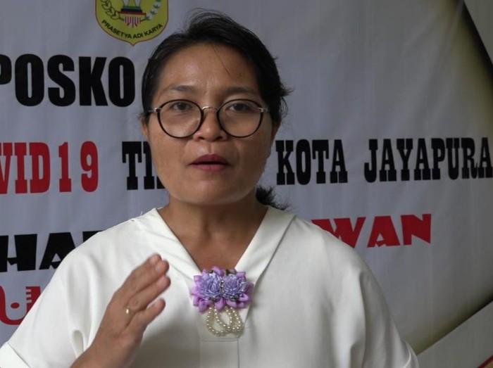 Jubir Gugus Tugas Penanganan Covid-19 Kota Jayapura, dr Ni Nyoman Sri Antari