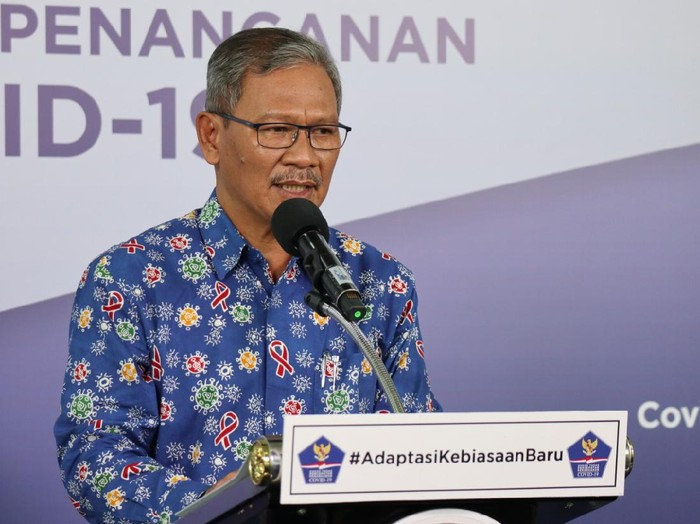 Juru Bicara Pemerintah terkait Penanganan COVID-19, Achmad Yurianto (dok. BNPB)