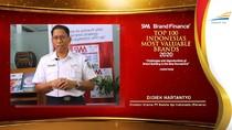KAI Masuk Daftar Merek Termahal Indonesia dengan Nilai US$ 342 Juta