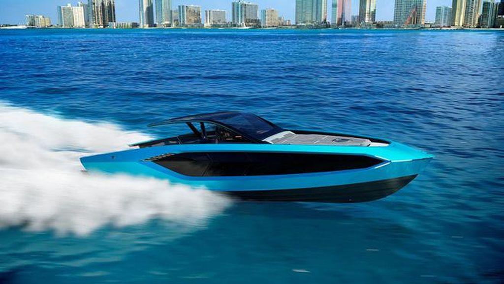 Ketika Lamborghini Bikin Speed Boat Berkecepatan Tinggi