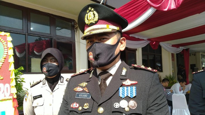 Kapolres Bogor AKBP Roland Ronaldy