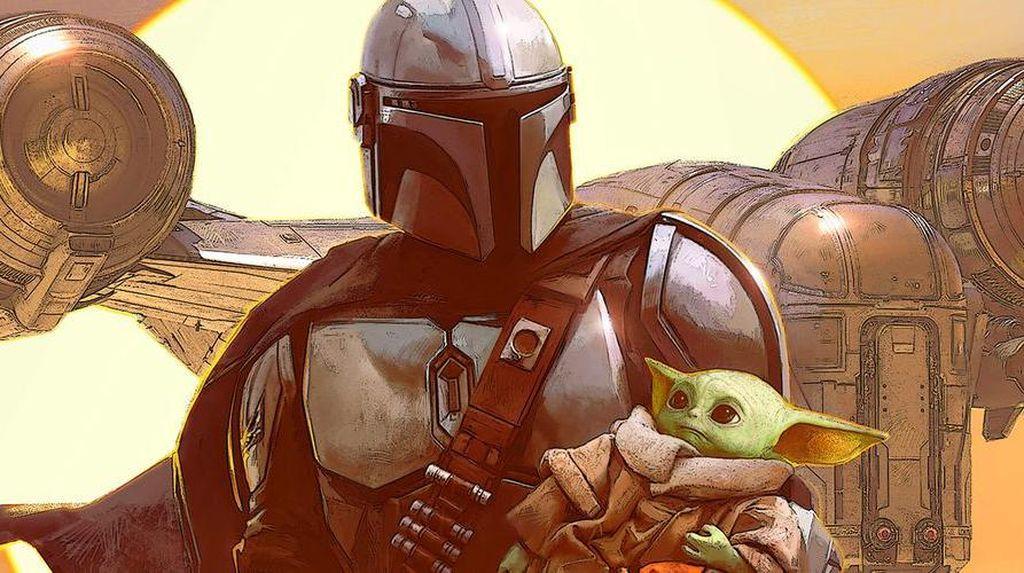 Dari Semesta Star Wars, The Mandalorian Versi Novel dan Komik Segera Rilis