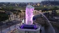 Patung Merlion Medan Terbuka untuk Umum Nggak Sih?