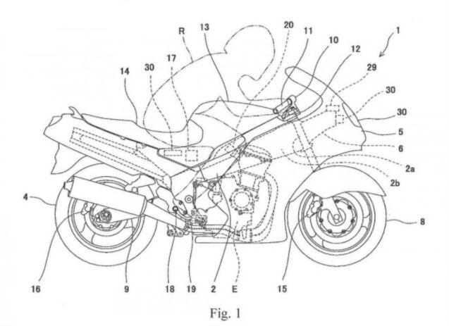 Motor Kawasaki bakal dilengkapi dengan Laser, Kamera dan navigasi satelit.