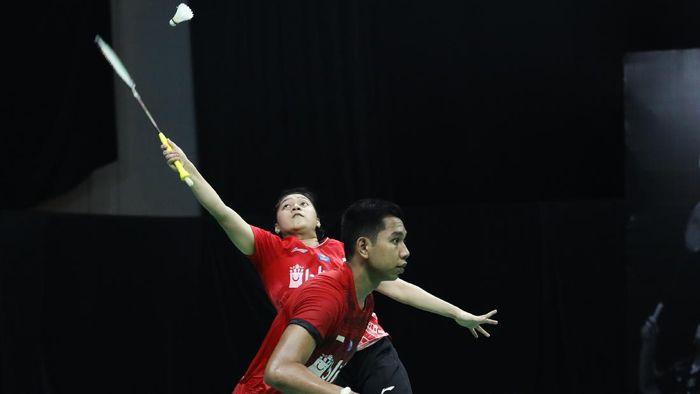 PBSI Home Tournament, Teges Satriaji Cahyo Utomo/Indah Cahya Sari Jamil.