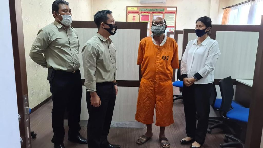 Perkosa Menantunya Sendiri, Kakek di Denpasar Ditangkap Polisi