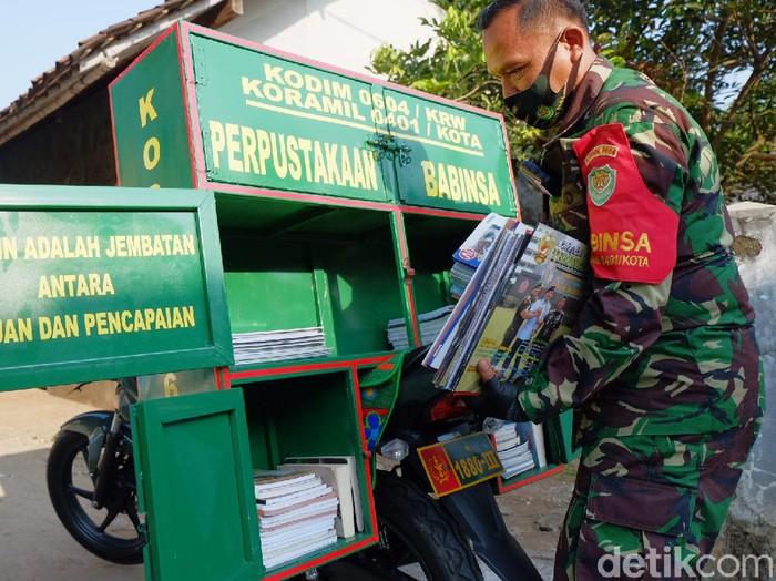 Perpustakaan Keliling TNI Karawang