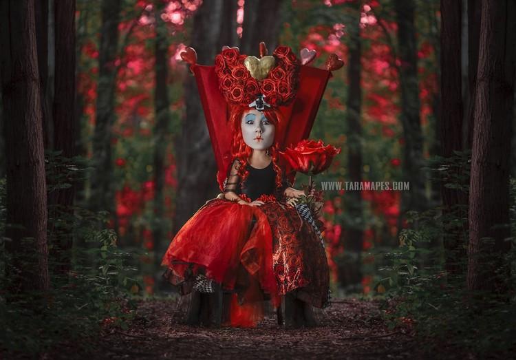 Photoshoot Tema Alice In Wonderland