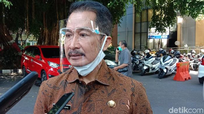 Plt Bupati Kudus HM Hartopo di Pendopo Kabupaten Kudus, Selasa (30/6/2020)