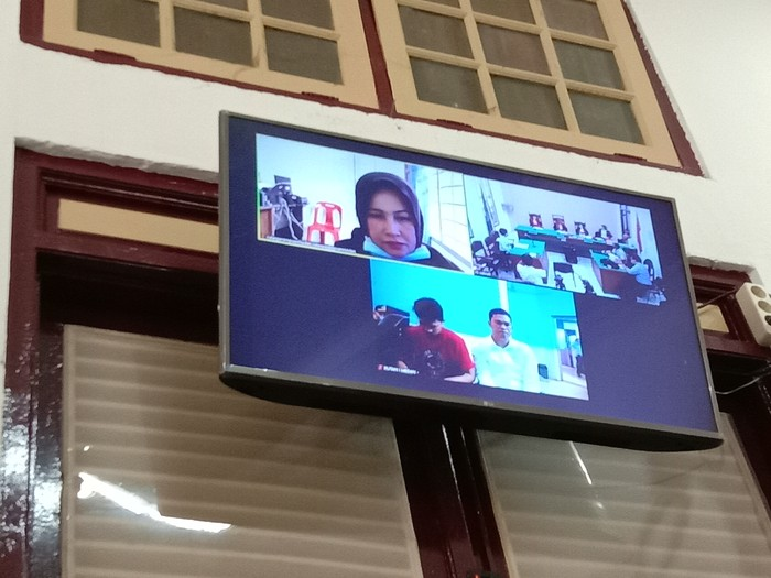 Sidang vonis Zuraida Hanum (Datuk Haris Molana-detikcom)