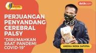 Pabrik Tutup, Penyandang Cerebral Palsy Jualan Tisu dan Karak