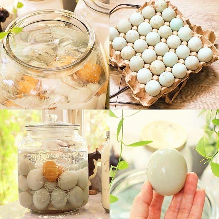 Cara Bikin Telur Asin yang Praktis Pakai Stoples