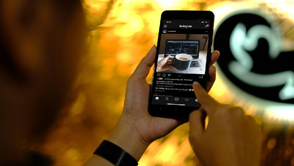 Pamor TikTok di RI Meroket, Konsumsi Data Buat Instagram Boros