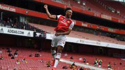 Aubameyang Ukir Sejarah di Arsenal