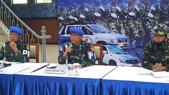 Danpuspom Mayjen TNI Eddy Rate Muis (Foto: Yogi/detikcom)