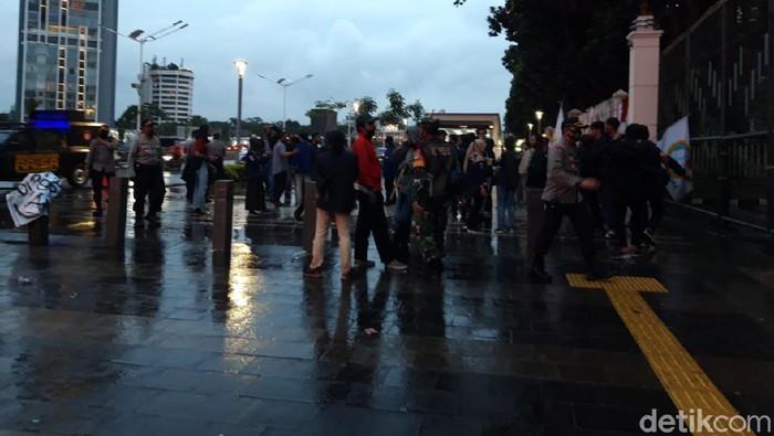 Demo mahasiswa di Kemendikbud