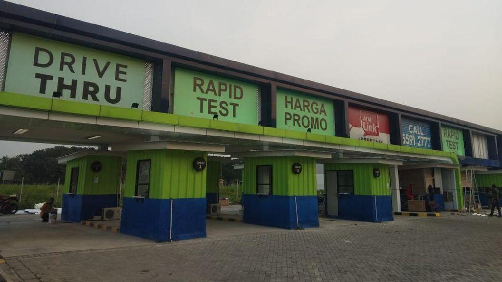 Ada Layanan Rapid Test Drive Thru di Bandara, Berapa Biayanya?