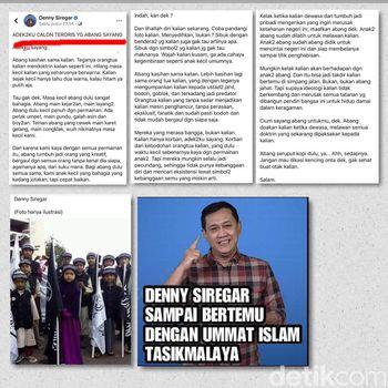 forum mujahid tasikmalaya laporkan denny siregar ke polisi