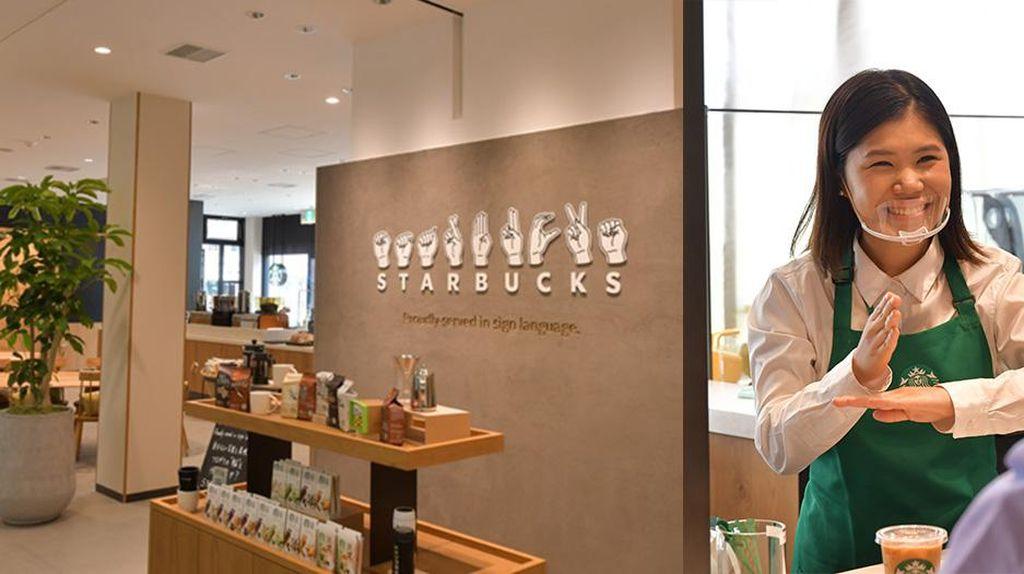 Pertama di Jepang, Starbucks Hadirkan Layanan Bahasa Isyarat