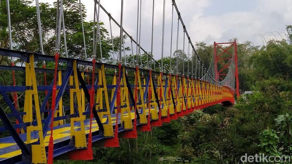 Jembatan Jokowi yang Ngehits di Magelang