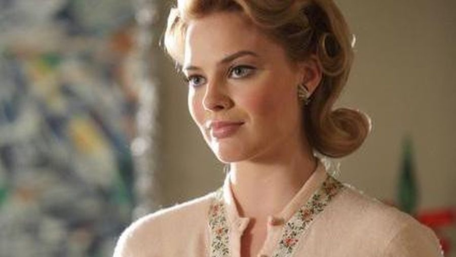 Margot Robbie di serial televisi The Neighbour pada 2011.