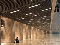 Masjid Istiqlal dengan Teknologi Lampu yang Baru buatan tim Pavilion 95