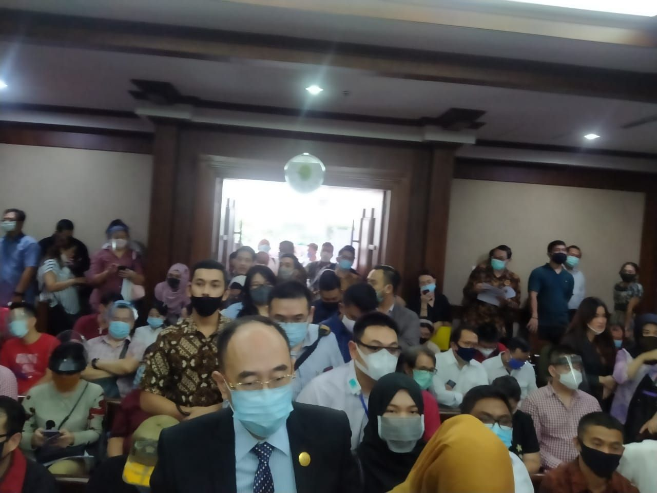 Nasabah KSP Indosurya Geruduk PN Jakpus Tuntut Utang Gagal Bayar