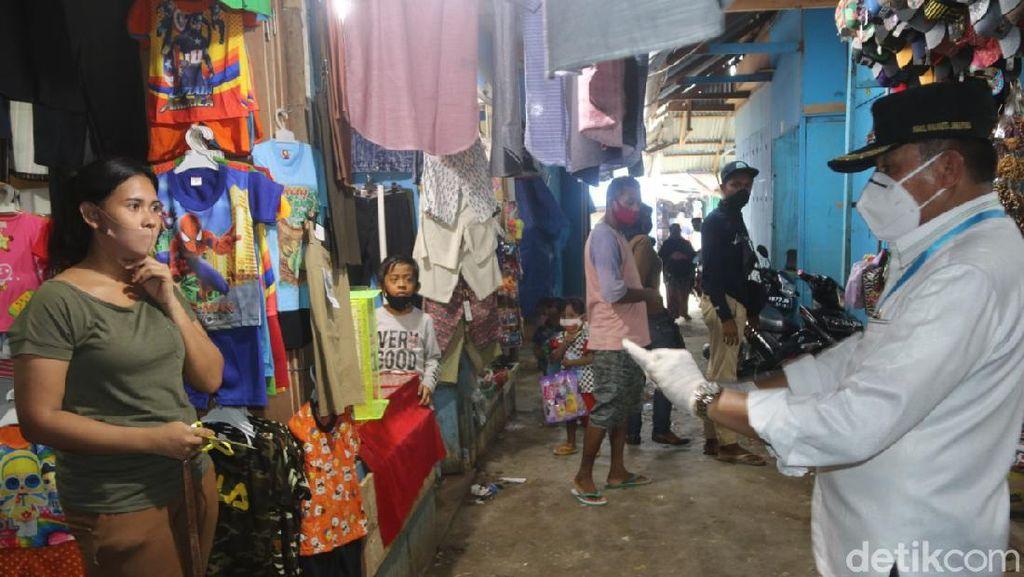100 Pedagang Positif COVID-19, Pasar Youtefa Papua Tetap Buka